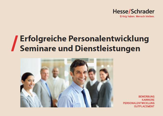 Bewerbung Karriere Personalentwicklung Hesseschrader